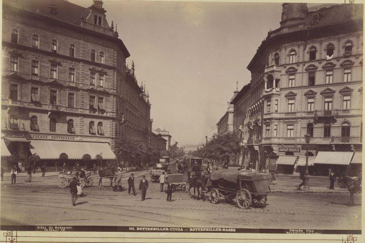 Baross tér, szemben a Rottenbiller utca